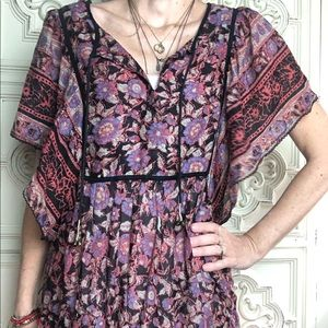 ECOTE Urban Outfitters tunic blouse